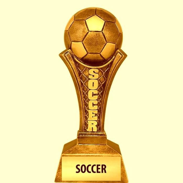 Trofeos personalizados de futbol